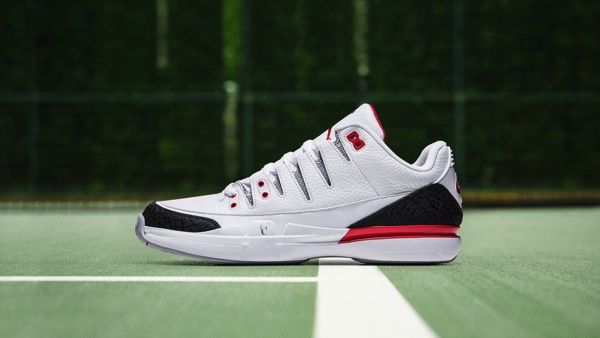 NIKE COURT ZOOM VAPOR AIR JORDAN 3 FIRE RED
