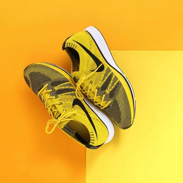 NIKE FLYKNIT TRAINER BRIGHT CITRON