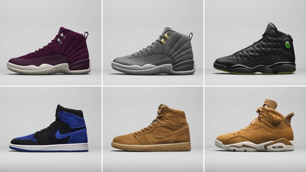 JORDAN BRAND HOLIDAY 2017