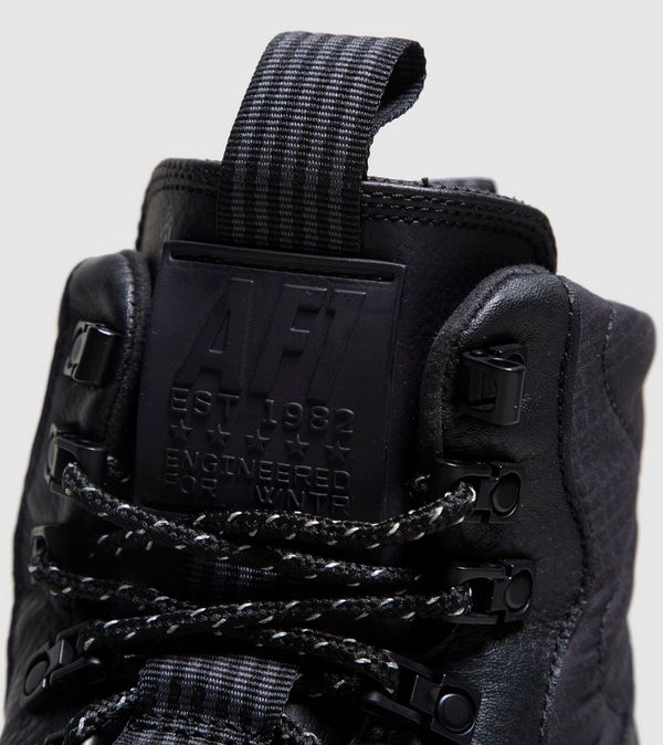 NIKE LUNARFORCE 1 DUCKBOOT BLACK