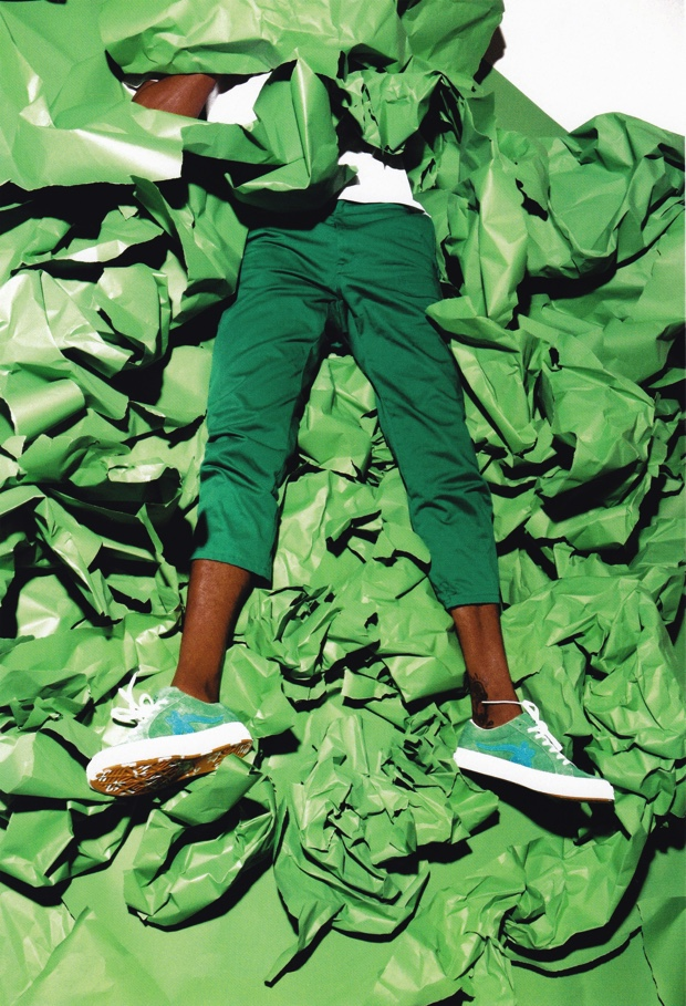 TYLER, THE CREATOR x CONVERSE ONE STAR GOLE LE FLEUR