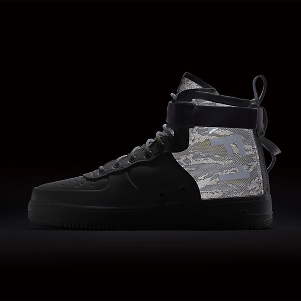 NIKE SPECIAL FIELD AIR FORCE 1 MID WHITE CAMO