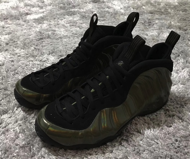 Nike Air Foamposite One Weatherman vs. Nike Air ...