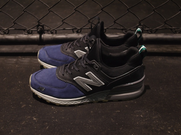 MITA SNEAKERS x NEW BALANCE 574 SPORT BLUE HOUR