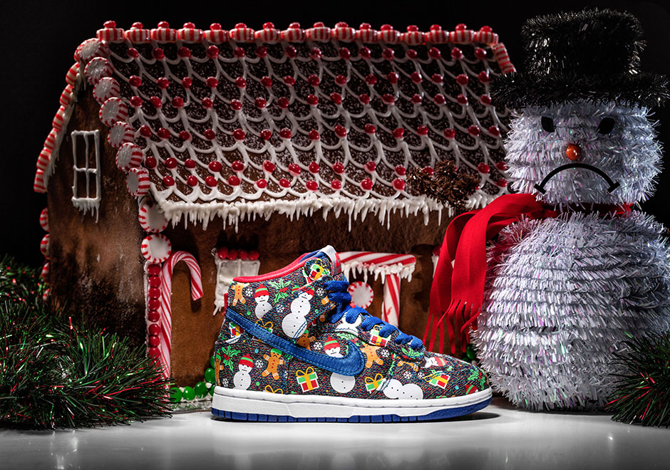 CONCEPTS x NIKE SB UGLY SWEATER DUNK