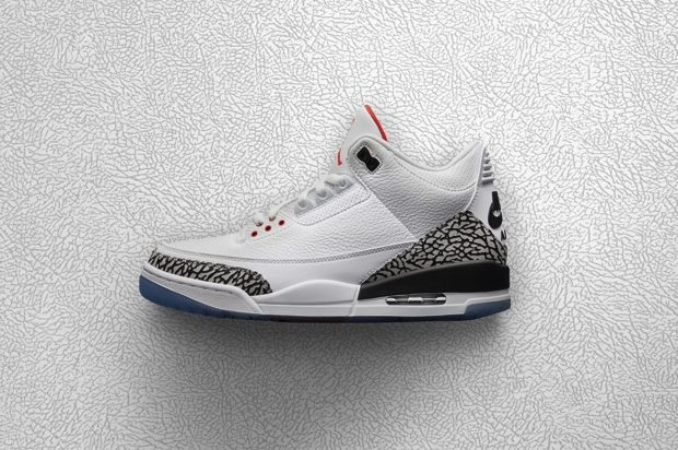 AIR JORDAN 3 RETRO WHITE CEMENT 923096-101
