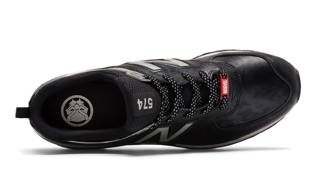 MARVEL x NEW BALANCE 574 BLACK PANTHER