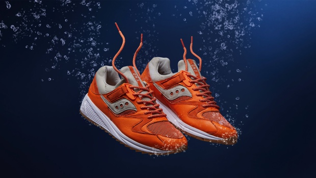 END. x SAUCONY GRID 8500 LOBSTER