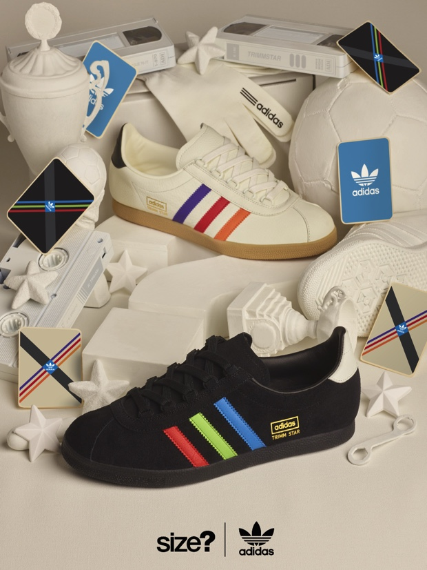 ADIDAS TRIMM STAR VHS SIZE? EXCLUSIVE