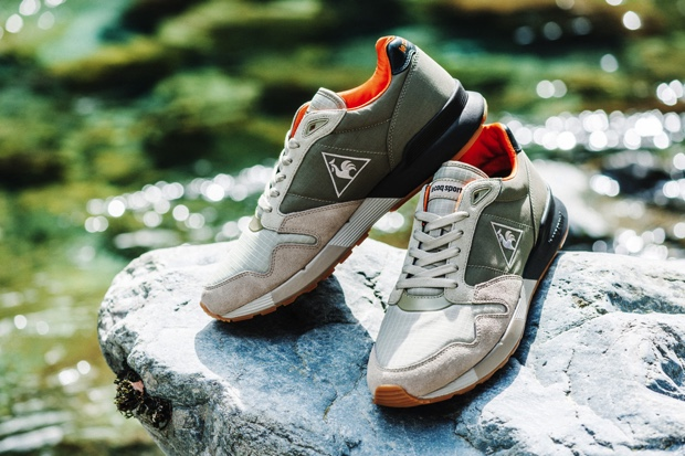 KICKS LAB x LE COQ SPORTIF OMEGA X FLY TROOPER