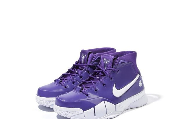 UNDEFEATED x NIKE ZOOM KOBE 1 PROTRO PURPLE