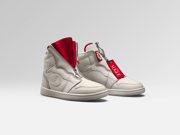 VOGUE x AIR JORDAN 1 HIGH ZIP