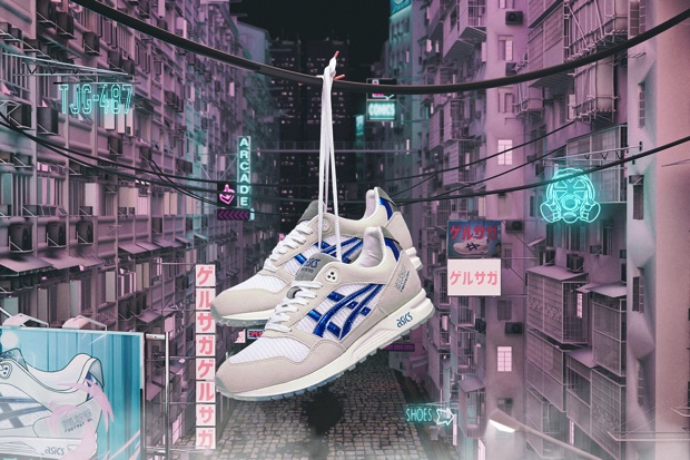 FOOTPATROL x ASICS TIGER GEL SAGA