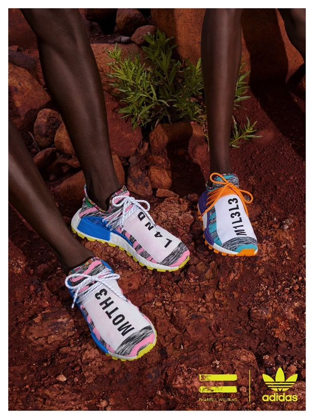 PHARRELL WILLIAMS x ADIDAS ORIGINALS AFRO PACK