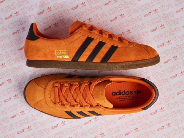 ADIDAS ORIGINALS TRIMM STAR PUMPKIN