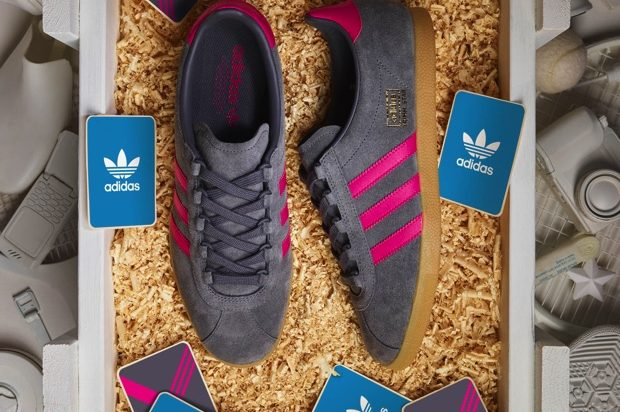 ADIDAS TRIMM STAR GREY-MAGENTA