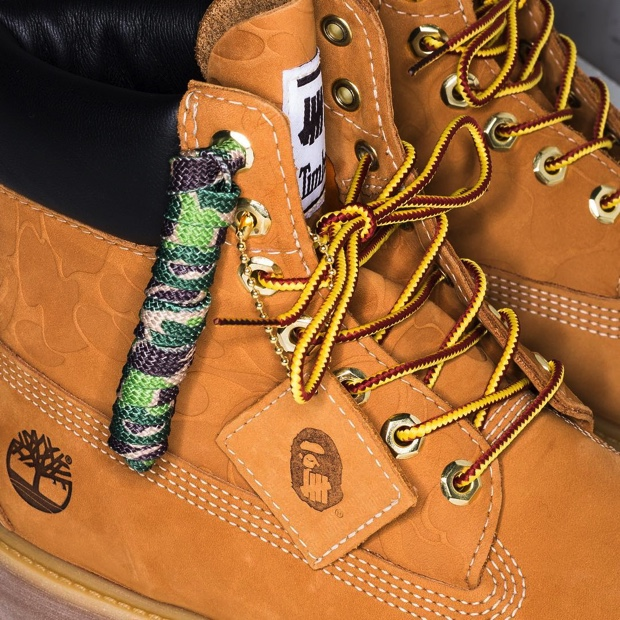 UNDEFEATED x A BATHING APE x TIMBERLAND