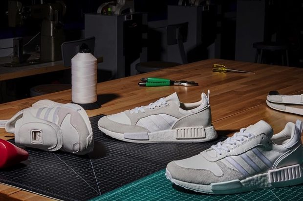 ADIDAS ORIGINALS NEVER MADE TRIPLE WHITE PACK