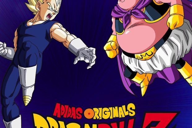 DRAGON BALL Z x ADIDAS ORIGINALS VEGETA VS MAJIN BUU