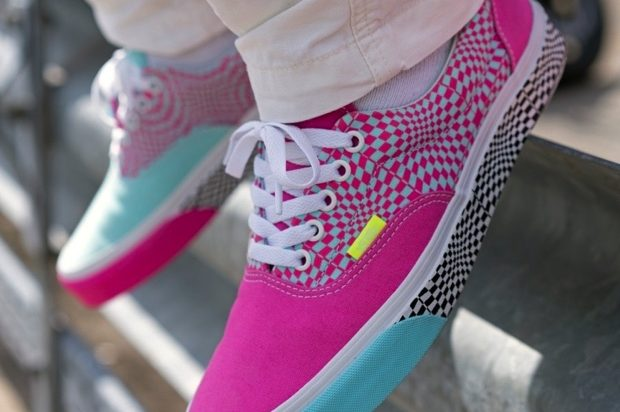 VANS ERA WARPED CHECK