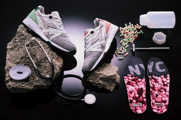 AFEW x DIADORA N.9000 HIGHLY ADDICTIVE NYC