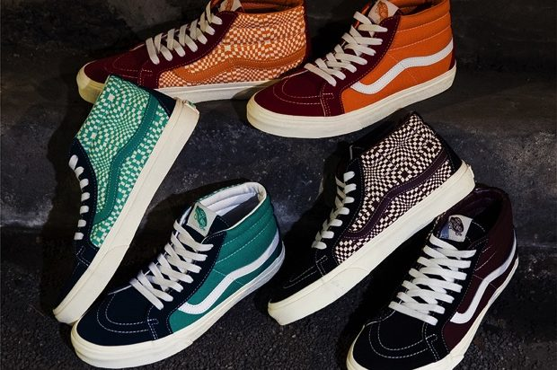 VANS SK-8 REISSUE WARPED CHECK