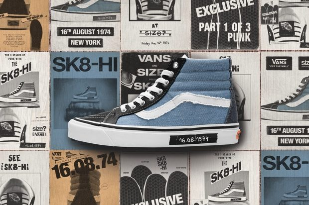 VANS SK-8 HI DAWN OF PUNK